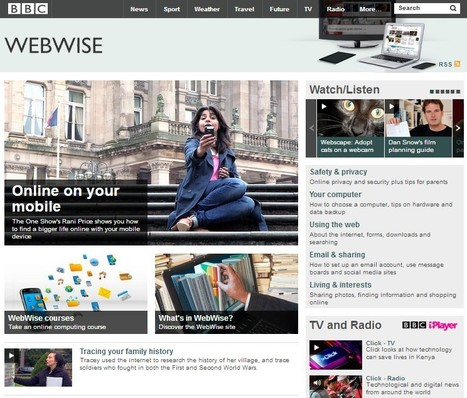 BBC WebWise - Plenty of free tutorials | mlearn | Scoop.it