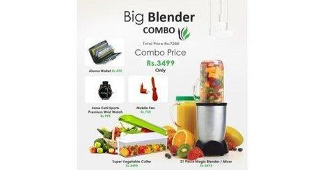 Buy Big Blender Combo @ Tbuy.in | BEST ONLINE SHOPPING IN INDIA | Scoop.it