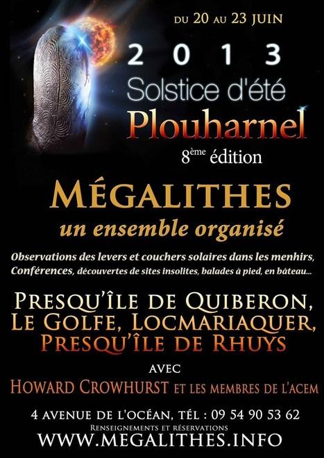 Solstice d'été 2013 - MEGALITHES.INFO   Mégalithismes   Scoop.it
