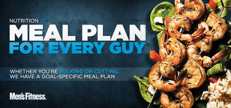 Bodybuilding.com - Meal Plan For Every Guy   Meal planning for bodybuilding   Scoop.it