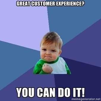 Happy Customers Mean Loyal Customers - are you ready to deliver positive #CustExp? | Enterprise Social Media | Scoop.it