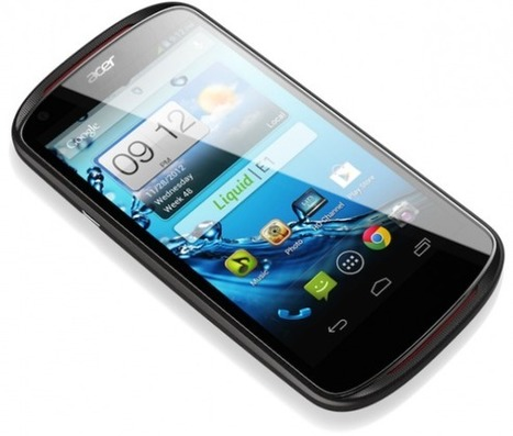 Acer Liquid E1 brings smooth PC aesthetics to Android | Mobile IT | Scoop.it