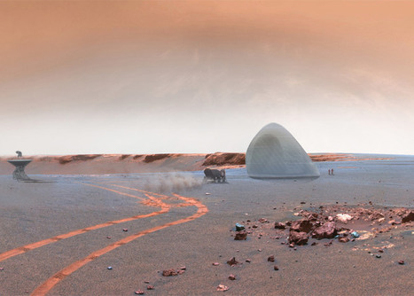 3D-printed ice house wins NASA Mars Habitat contest | Form, Structure & Complex Geometry Innovations | Scoop.it