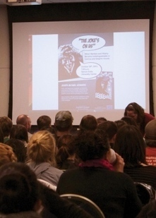 Speaker: Villians and heroes are closer than they seem | Graphic novels in the classroom | Scoop.it