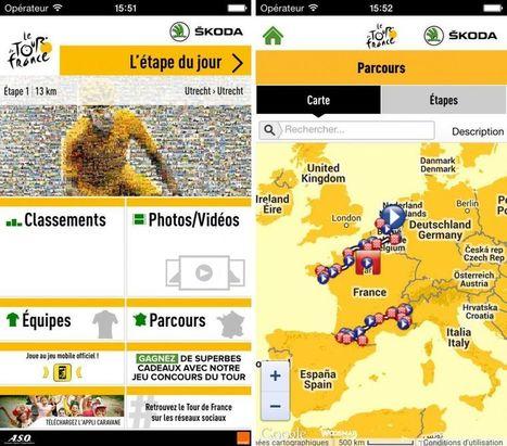 Tour de France 2015 : l'app officielle pour pédaler tout l'été - iPhoneSoft | Applications Iphone, Ipad, Android et avec un zeste de news | Scoop.it