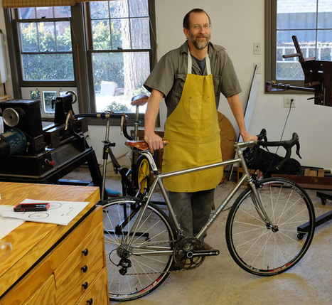 Tom Eblen: Lexmark engineer peddles customized bicycle frames - Lexington Herald Leader | Gear for Cyclists | Scoop.it