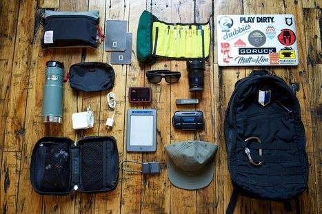 Packing List of a Digital Nomad - Carryology - Exploring better ways to carry | Share Some Love Today | Scoop.it