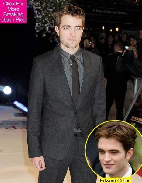 Robert Pattinson: Why It Was Hard To Play Edward In 'Breaking Dawn' - Hollywood Life | The Twilight Saga | Scoop.it