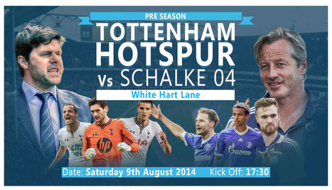 Tottenham Hotspur vs FC Schalke 04-LIVE ON HD TV- - Sport-Tv | jak111 | Scoop.it