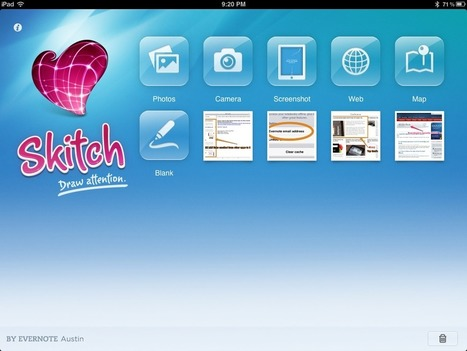 Skitch: annotare, creare e disegnare su iPad e Android   Didattica con Android   Scoop.it