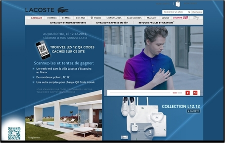 Lacoste innove dans le multicanal | M-Marketing | Scoop.it