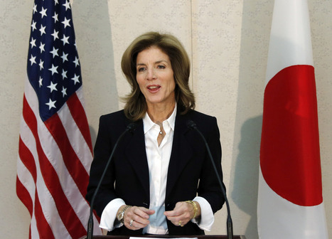 Caroline Kennedy takes public office in Japan, 50 years after JFK's death | Als Return to Education | Scoop.it