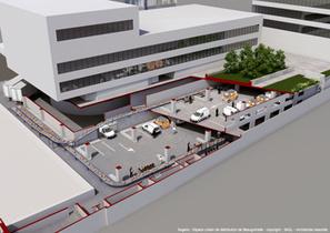 Sogaris ouvre un espace urbain quai de Grenelle | Sites Logistiques | Scoop.it