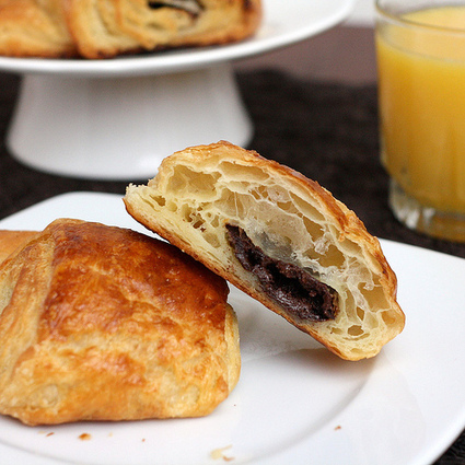 #Recipe - Step-by-Step Chocolate Croissants | RECIPES WITH CHOCOLATE | Scoop.it