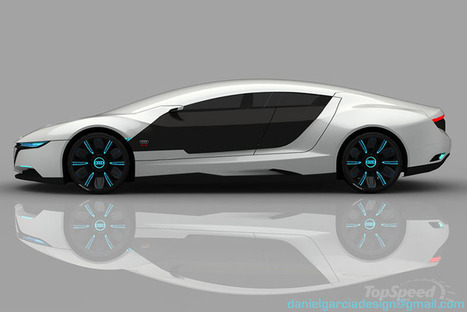 Audi A9 Concept Car Repairs Itself And Changes Color | Transportation | Scoop.it