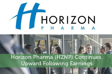 Horizon Pharma (HZNP) Continues Upward Following Earnings - Modest Money | Airline Miles | Scoop.it