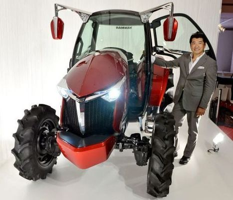 Yanmar YT01 tractor makes muscle cars look ordinary | DamnGeeky | Scoop.it