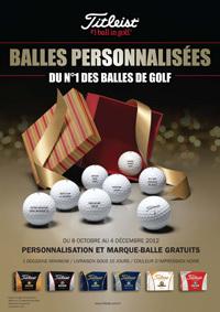 Offrez des balles personalisées à Noël | Fou de Golf | Fou de Golf | Scoop.it
