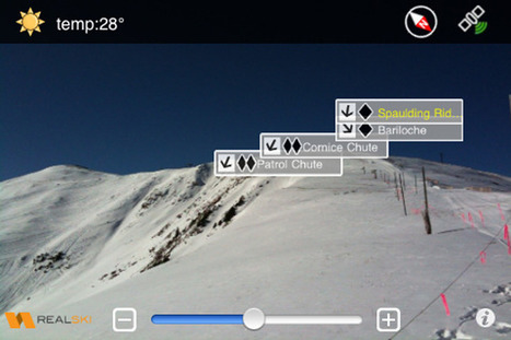 Four Winter Sports iPhone Apps That Help You Shred With Ease | Freeride skiing | Scoop.it