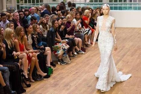 London Fashion Week 2014: Julien Macdonald unveils diamond-embroidered ... - Evening Standard   Monica qb wedding   Scoop.it