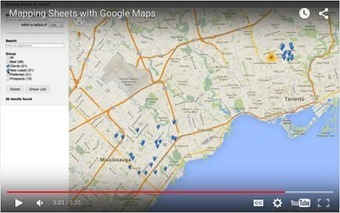 Here is A Great Tool to Create Google Maps from Your Data Sheets ~ Educational Technology and Mobile Learning | iEduc | Scoop.it