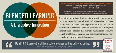 Blended Learning: A Disruptive Innovation | UDL & ICT in education | Scoop.it