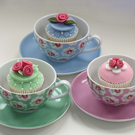 Cath Kidston style cupcakes | Yummy Tummy | Scoop.it