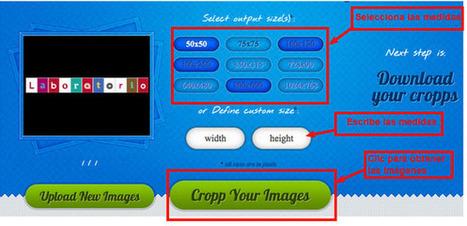 Cómo recortar y redimensionar fragmentos de una imagen | Asesoría TIC y aprendizaje competencial | Scoop.it