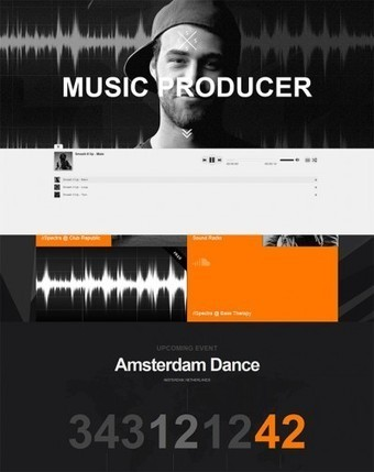 29 Best HTML Website Templates For Bands And Musicians | DIY Music | Scoop.it