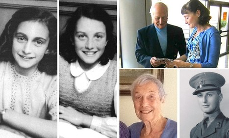 Daughter of Anne Frank's classmate thanks British officer who saved mother ... - Daily Mail | Holocaust | Scoop.it