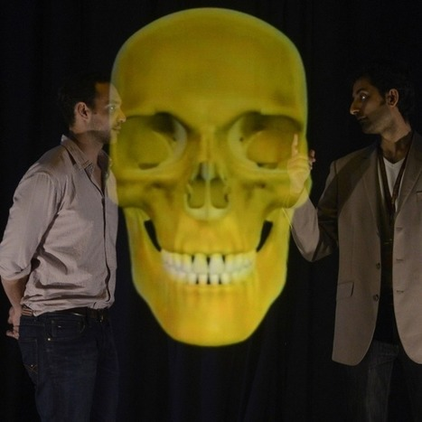 Jumbo 3D Holograms of Human Anatomy Enliven Med-School Lectures [VIDEO] | Real Estate Plus+ Daily News | Scoop.it