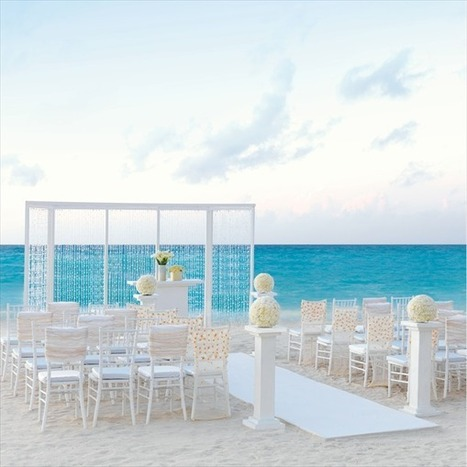 Cancun - The Mexican Hotspot To Celebrate Your Big Day | DestinationWedding | Scoop.it