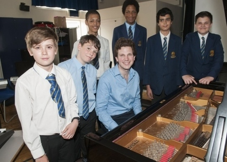 Renowned pianist gives William Ellis School pupils a musical masterclass | Muswell Hill News | Scoop.it
