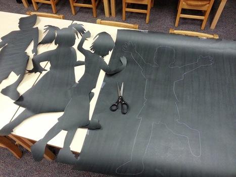 Kindergarten's 3 R's: Respect, Resources and Rants: Back to School Bulletin Board: Silhouettes | Kindergarten | Scoop.it