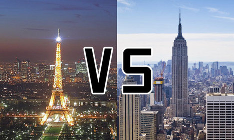 Paris VS New-York : un artiste compare les deux plus belles villes du monde | You're Welcome - Séjours linguistiques aux USA, Bons Plans & Actus | Scoop.it