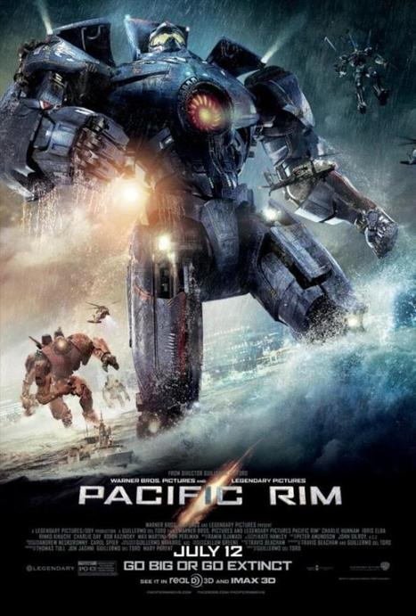 Twitter / LATINHORROR: The main key-art for Guillermo ... | Pacific Rim | Scoop.it