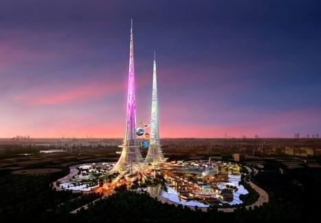 Chine: la première tour à dépasser les 1000 mètres décrochera-t-elle aussi le titre de « gratte-ciel le plus écologique » ? - Performance énergétique | Architecture, design & urbanisme | Scoop.it