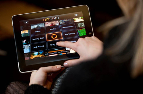 CES 2012: OnLive Shifts To Cloud Computing via the iPad - 148Apps | Cloud Computing the future or Not so much? | Scoop.it