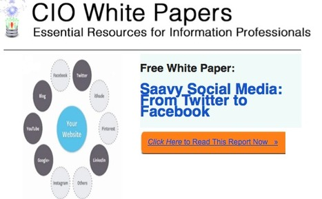 5 Easy Email Marketing Tips From CIO White Papers | Links sobre Marketing, SEO y Social Media | Scoop.it