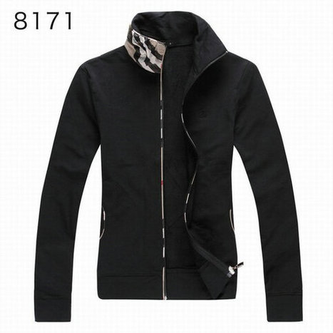 Burberry Long Sleeve Fleece Coats Sports Hoody For Girl Black | Burberry Shirts mens and  womens | Scoop.it