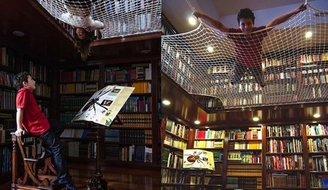"""""""Reading Net"""" Allows Kids to Learn While Floating in Mid-Air 