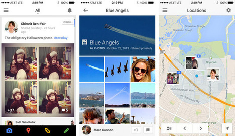 Google+ for iOS gets full-res photo backups, lets you share your location | Google+ News Source | Scoop.it
