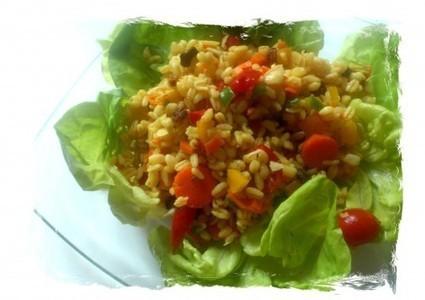 Le Monde Culin'Air - Cuisine d'envie et d'instinct – Salade de blé aux légumes | Recettes épicuriennes | Scoop.it