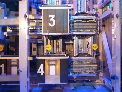 ThyssenKrupp unveils model of the MULTI,  a vertical mass transit system | great buzzness | Scoop.it