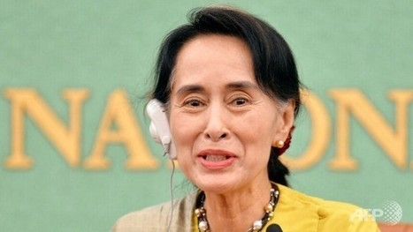 Myanmar unrest tests iconic status of Suu Kyi - Channel NewsAsia | Thailand Business News | Scoop.it