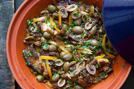 Moroccan Chicken with Lemon and Olives | À Catanada na Cozinha Magazine | Scoop.it