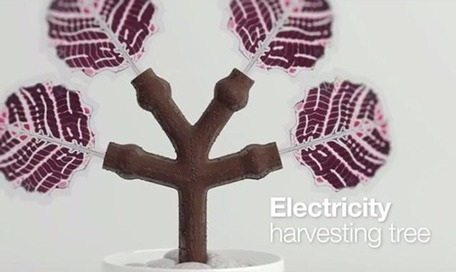 This 3D-printed tree charges smart phones with solar power | Green Geek News | Scoop.it