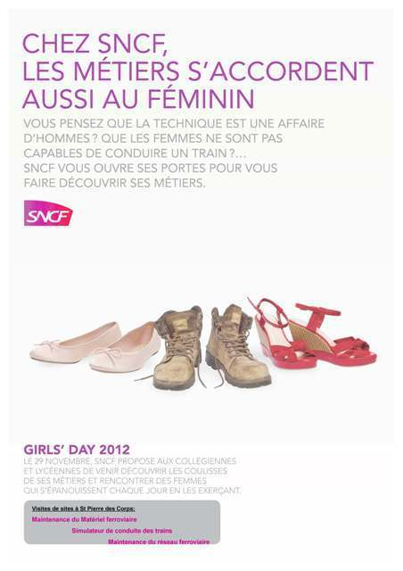 Girls' day : 130 collégiennes de l'académie sur les rails ! - Académie de Toulouse   Orientation au collège   Scoop.it