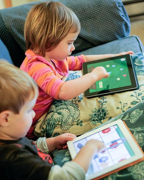 PAPA, TU ME PRÊTES TA TABLETTE ? | Education et numérique | Scoop.it