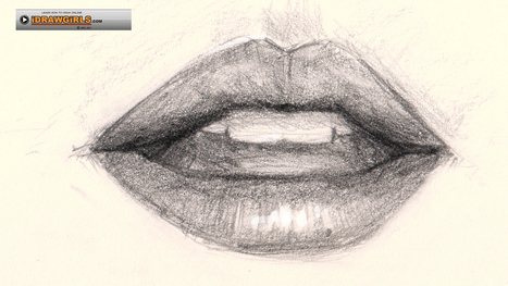 How to draw lips | craftscat | Scoop.it